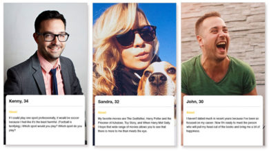The three photos every online dating profile should have