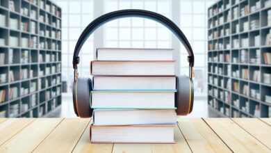 Photo of Audio books